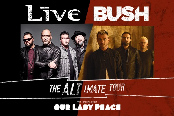 Bush and Live add fall tour dates