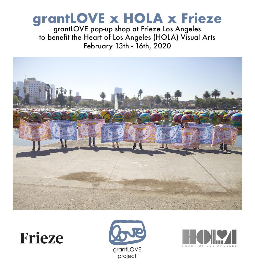 GrantLOVE pop-up shop at Frieze