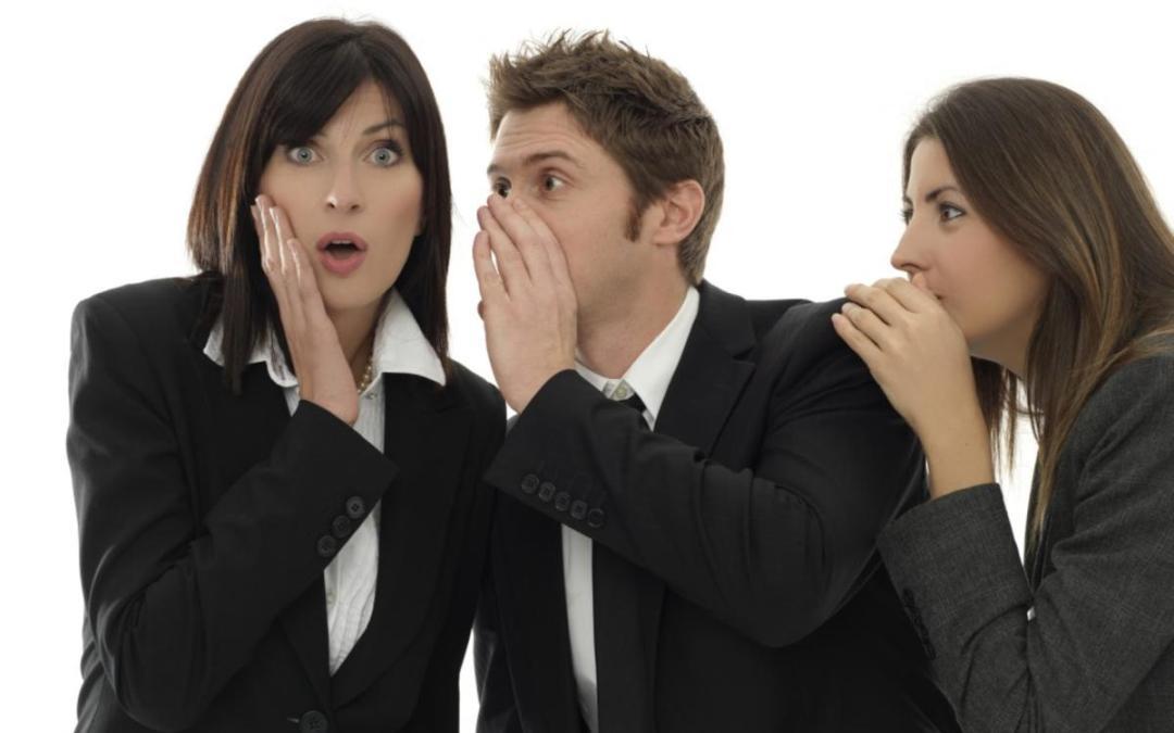 Work gossip: 3 golden rules