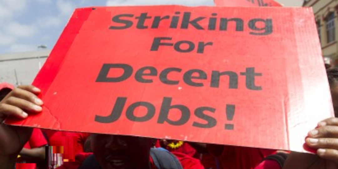STRIKES CAN MEAN DISASTER FOR EMPLOYERS