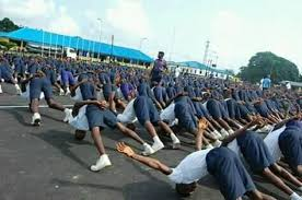 Nigerian navy training