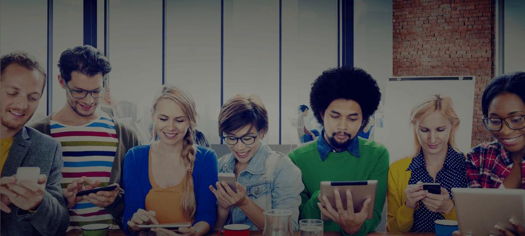 App Bewerben - Junge Bewerber bewerben sich direkt über die Talentcube App
