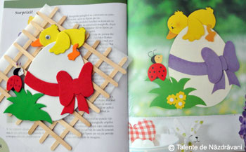 Idei creative, Editura Casa: Figurine din hartie, modele de primavara şi de Pasti