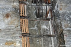 Vechiul put de mina Salina Slănic Prahova