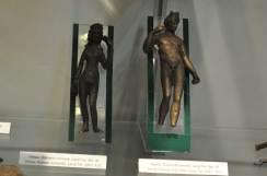 Venus și Apolo, statuete romane, Lacul Tei, sec III îCh
