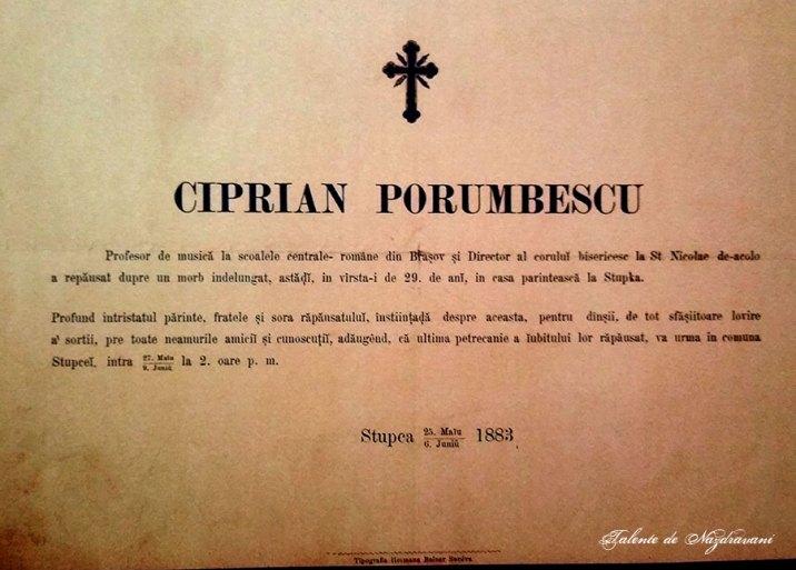 Muzeul Ciprian Porumbescu - Stupca