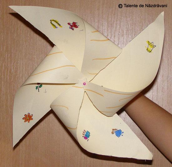 Morișcă din hârtie