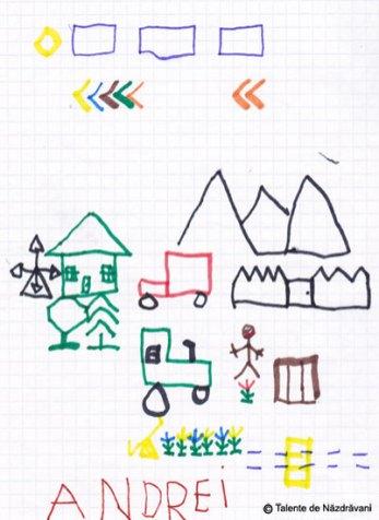Desen pe pătrățele