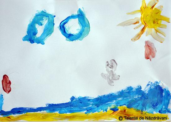 Pictură. Amintiri de vacanță