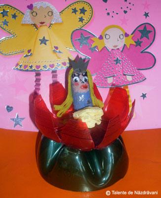 Prințesă din dop de plută