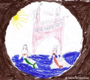 Iris H., Bucureşti, 5 ani Sirene la castel