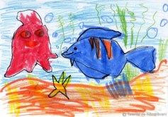 Theodor A., Iasi, 4 ani Peştele uriaş
