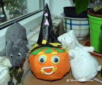 Dovleac de Halloween - colaj 3D