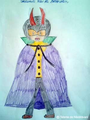 Costume de Halloween desenate de copii