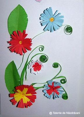Flori quilling