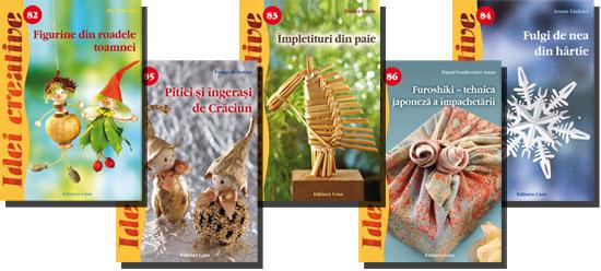 Editura Casa - Figurine din materiale de toamnă