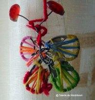 Fluture din cheițe de aluminiu