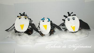Pinguini - craft idea