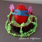 Ouă mascate pentru Paști