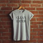 t shirt clean eater cadeaux noel talented girls
