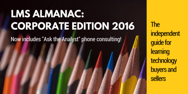 LMS ALMANAC CORPORATE EDITION now includes Ask-the-Analyst consulting sessions