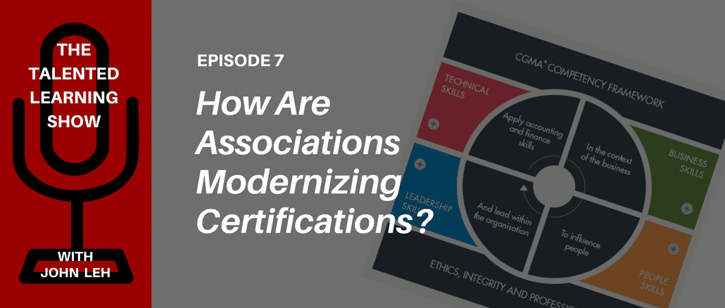 Podcast 7 Modern Certification Programs With Arleen Thomas Of