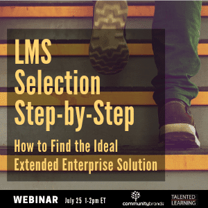 Join our LIVE webinar July 25th - LMS Selection Step by Step Webinar