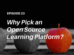 Why pick an open source LMS for extended enterprise learning? Listen to the podcast with independent learning tech analyst John Leh