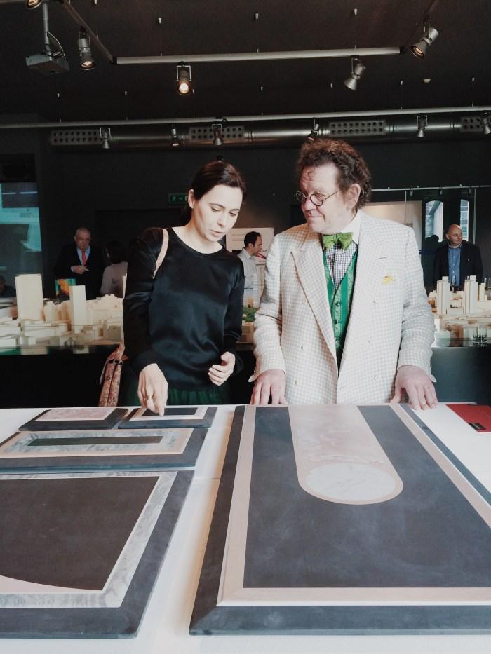 Cristina Celestino con Philippe Daverio@ Cristina Galliena Bohman