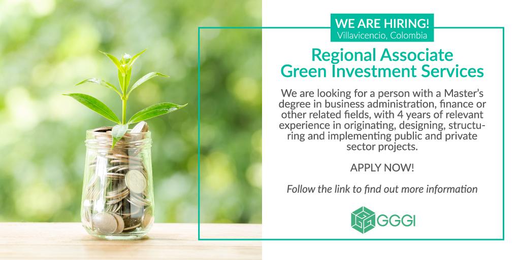 Regional Associate, Green Investment Services