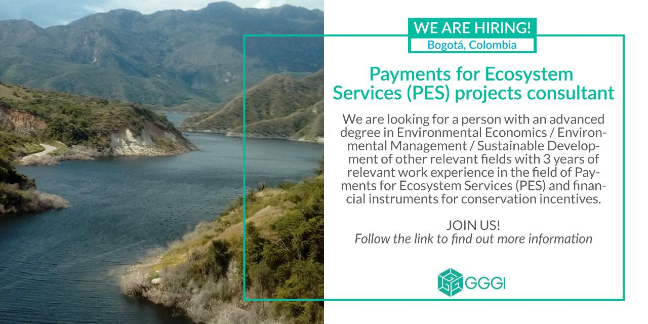 Payments for Ecosystem Services (PES) projects Consultancy
