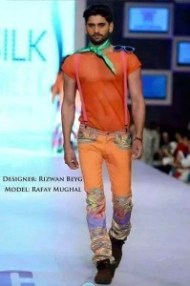 Rafay Mughal pakistani male model