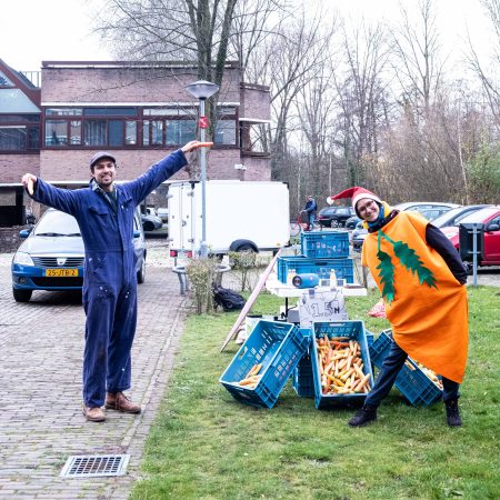 L2L Talents Team bij de Veggie Rescue Actie, Foto van Jelles Leusink