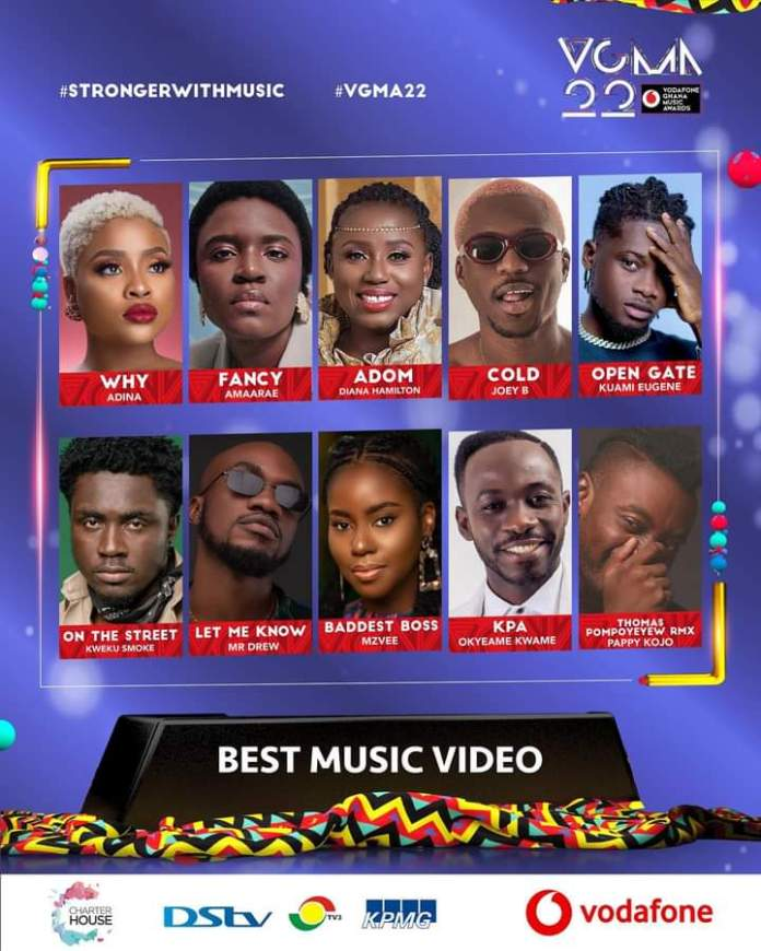 FB IMG 1617455199312 Final List Of Nominees For VGMA 2021- 22nd Edition