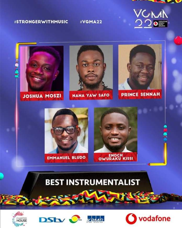 FB IMG 1617461070208 Final List Of Nominees For VGMA 2021- 22nd Edition