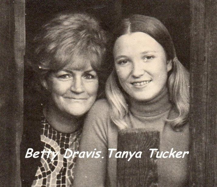 Betty Dravis with Tanya Tucker