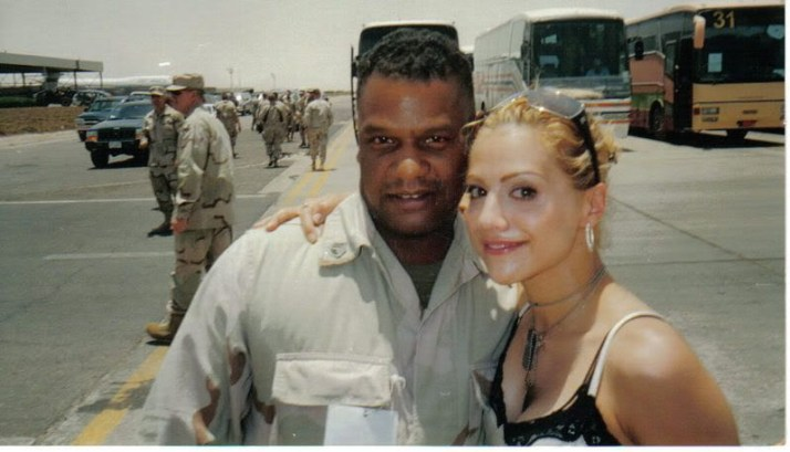 Chase with Brittany Murphy
