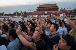 Mausolée Mao, la place Tiananmen, Pékin, Chine