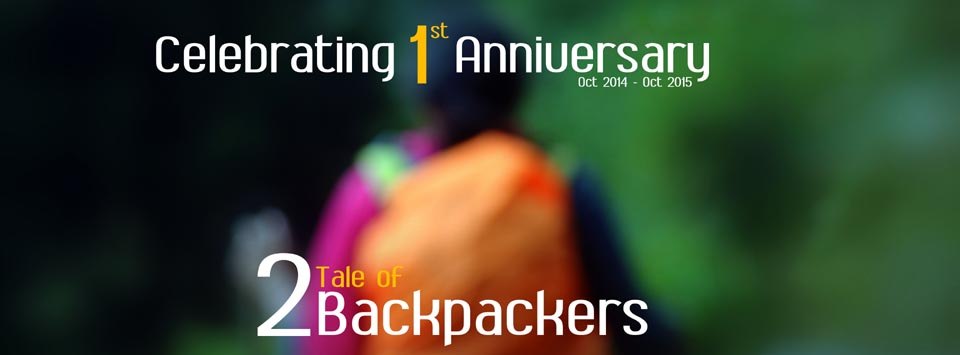 Tale of 2 Backpackers