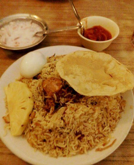 Azad Kerala Chicken Biriyani