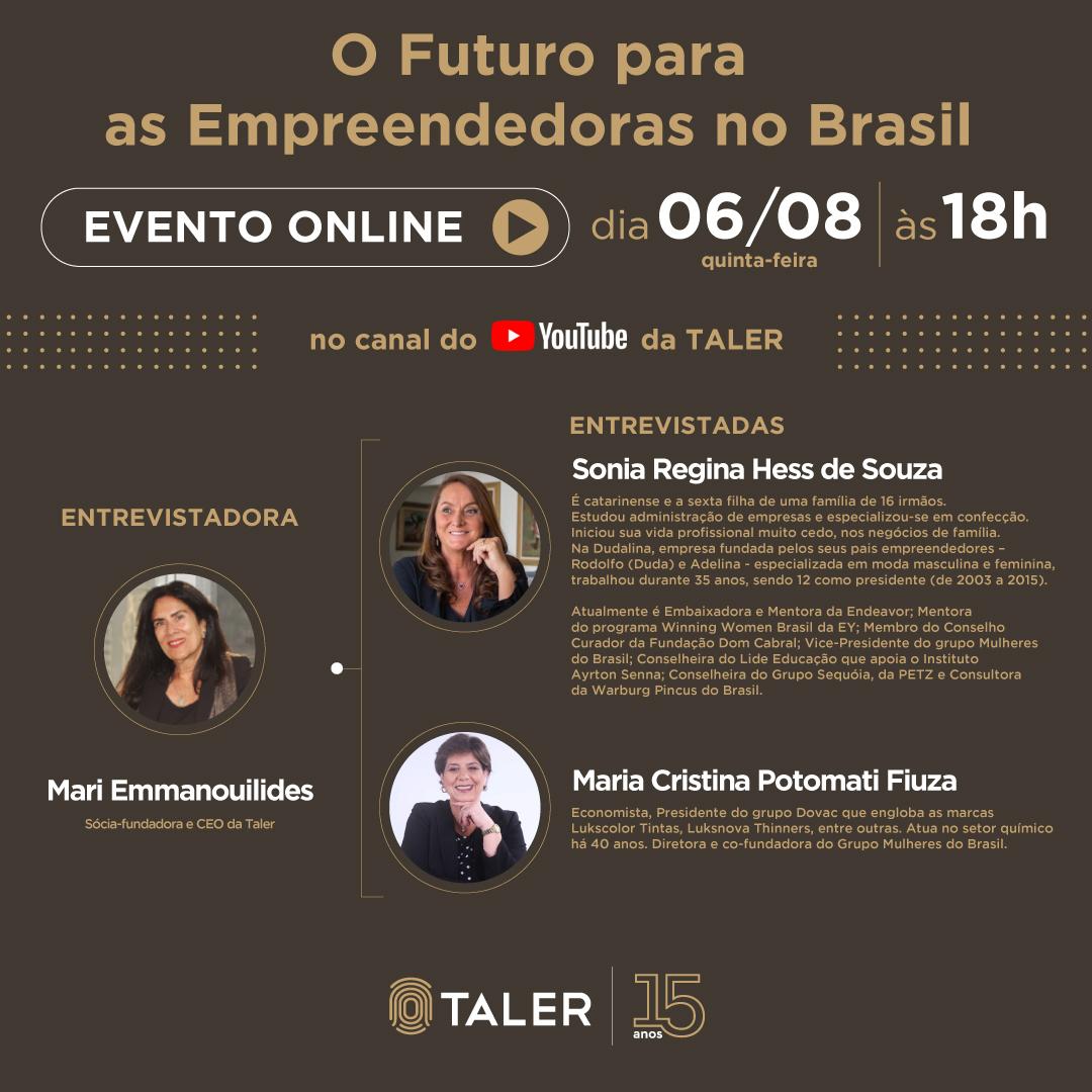 O Futuro para as Empreendedoras no Brasil