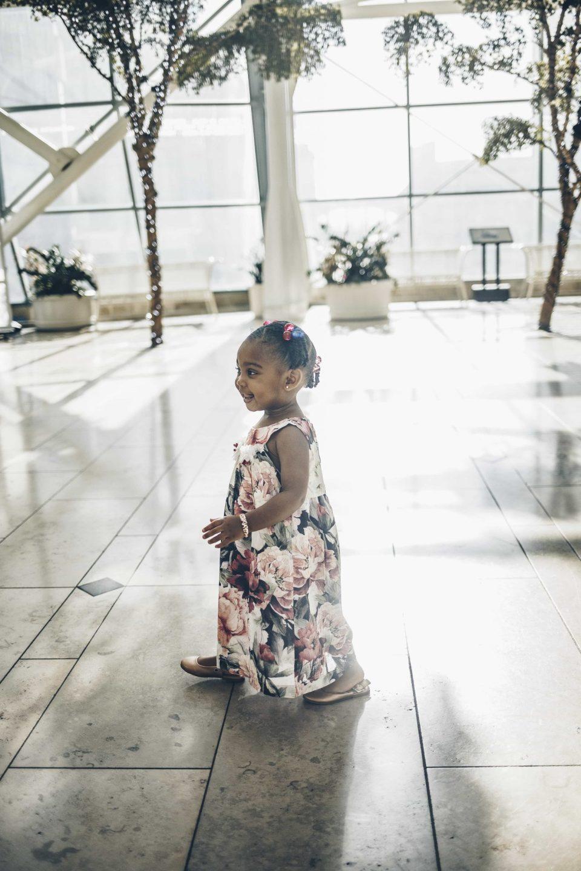 Summer toddler dress