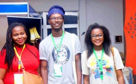 Ake festival, Tobi and Ruth.