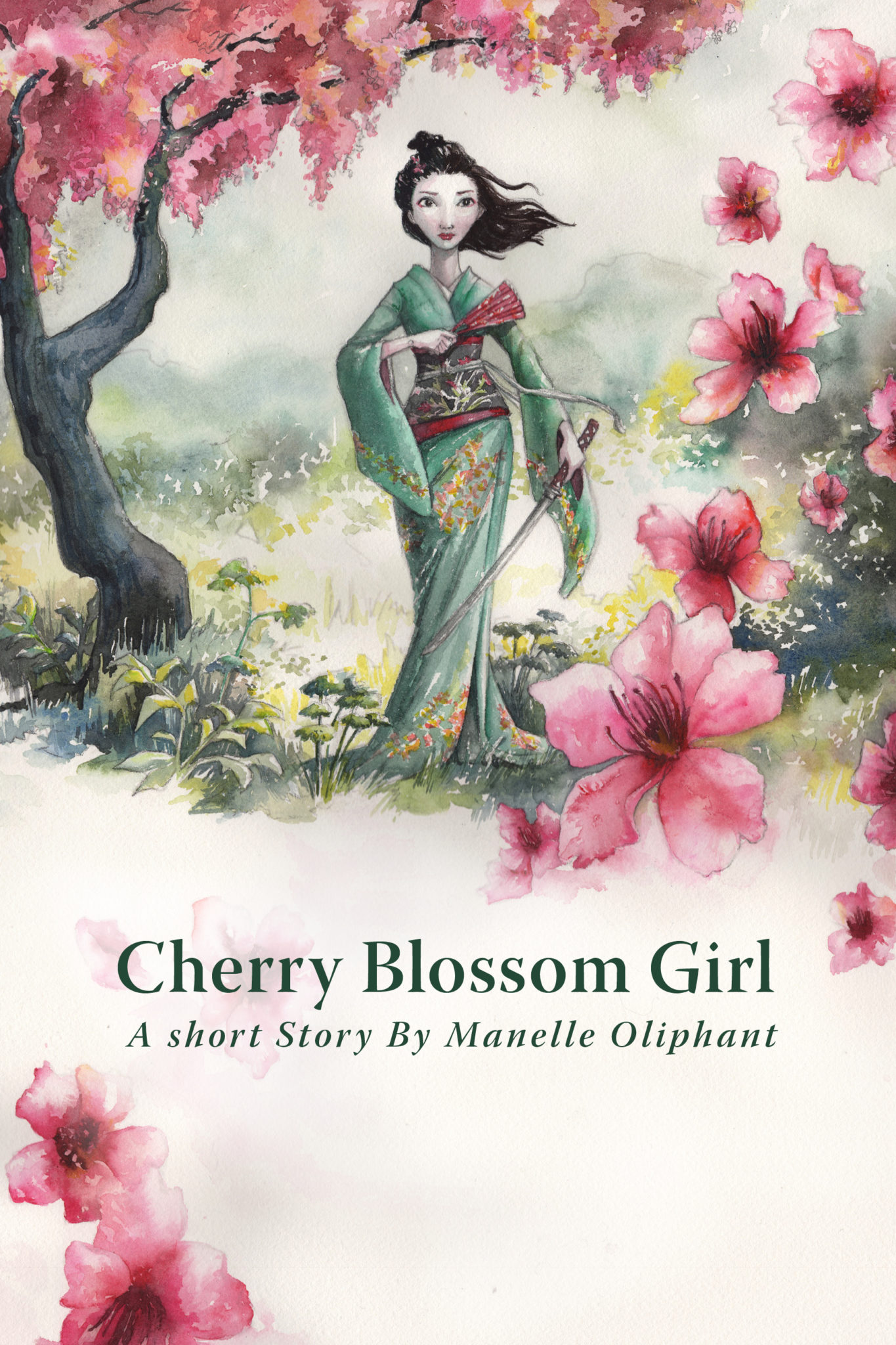 Cherry Blossom Girl by Manelle Oliphant