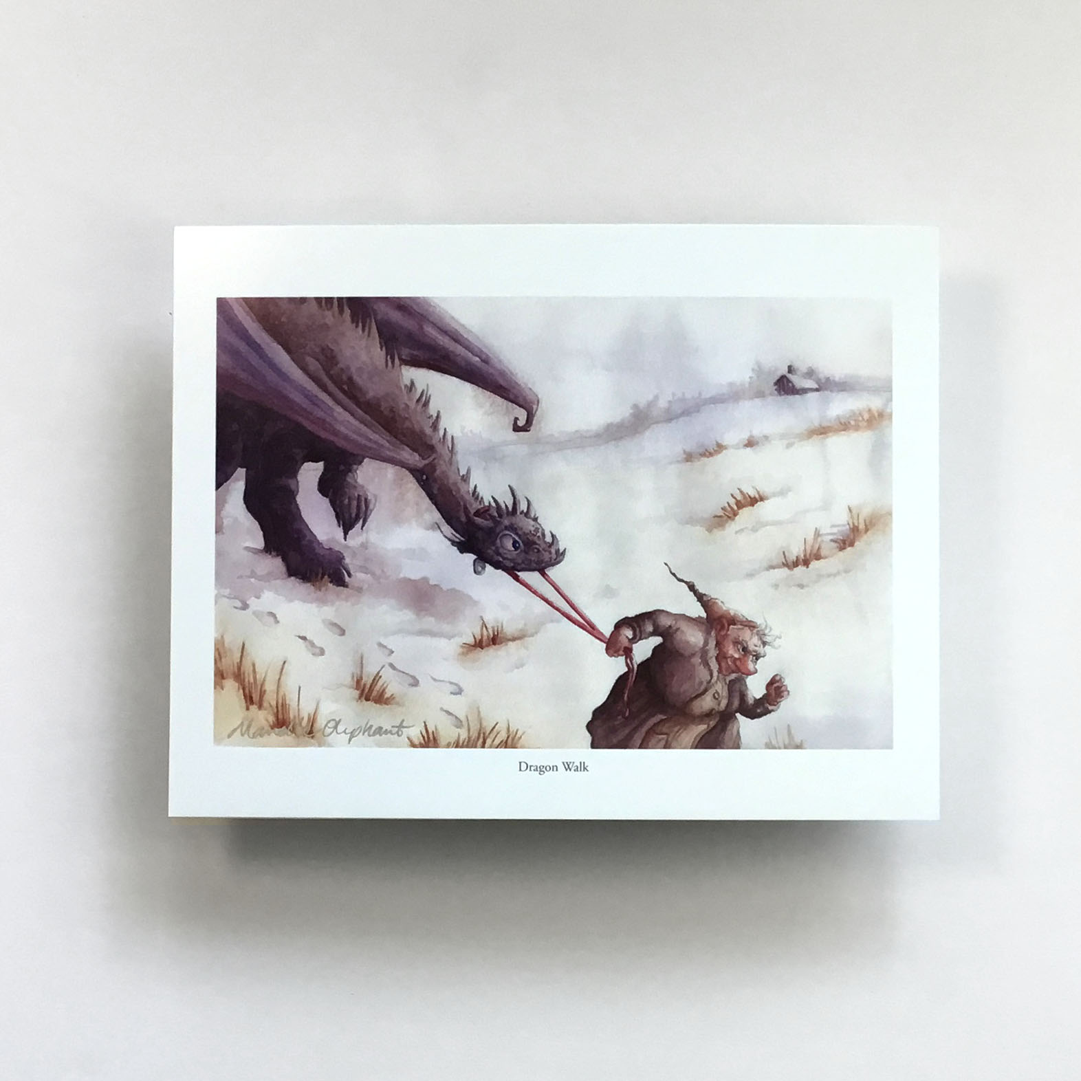 Dragon Walk Print