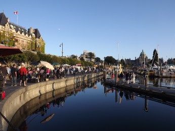 Victoria's lovely waterfront