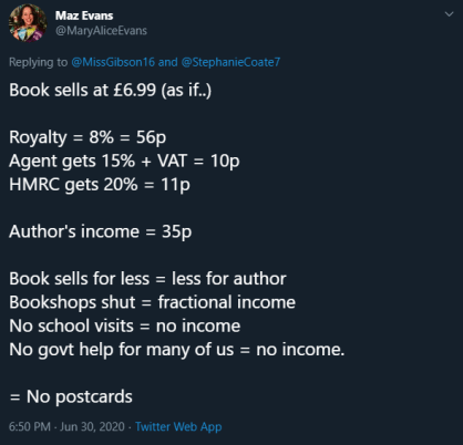 Reasons to Sign up to a Library Cost for Author Tweet