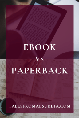 [PIN] Why the eBooks vs Paperbacks Debate is Over