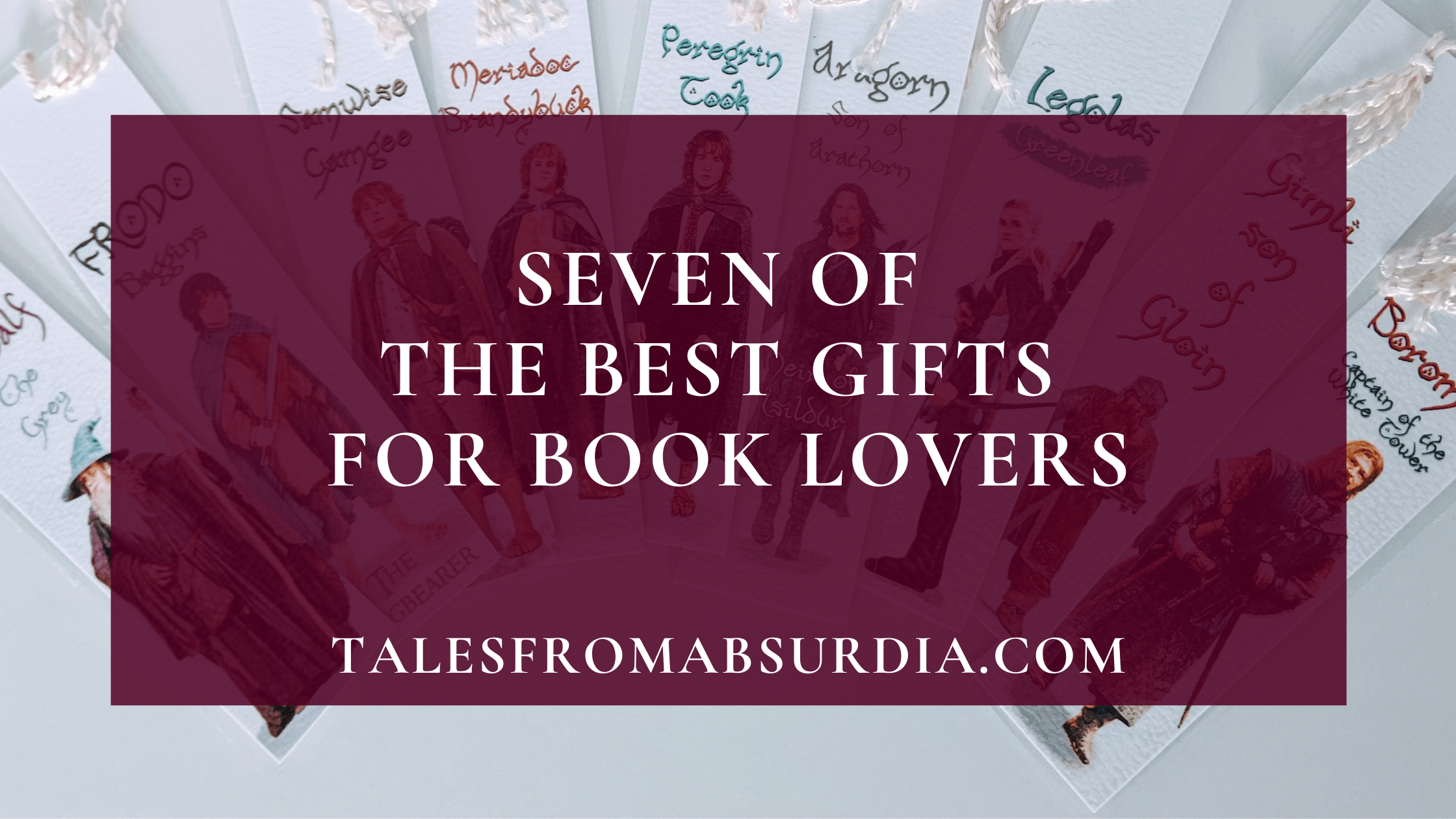 Seven of the Best Gifts for Book Lovers