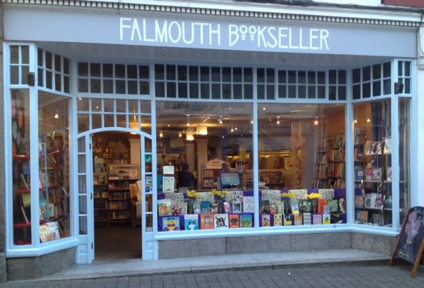 Independent Bookshop Falmouth Bookseller